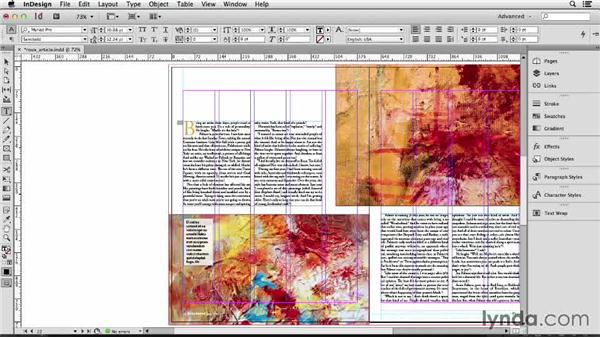 129 Dealing with parentheses around text size: InDesign Secrets