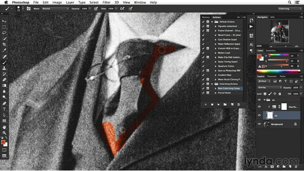 Introduction: Colorizing Black-and-White Photographs with Photoshop