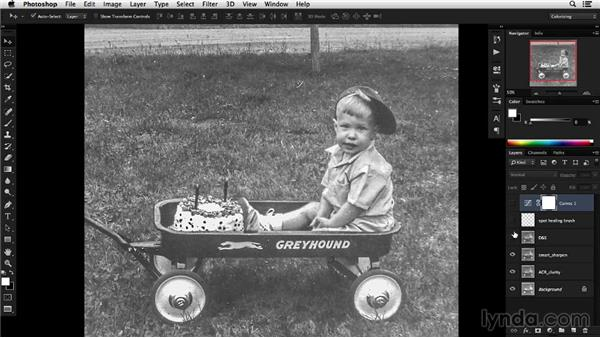 Solution: Prepare a photo for colorization: Colorizing Black-and-White Photographs with Photoshop