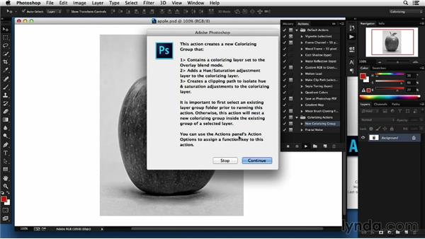 Leveraging the power of adjustment layers: Colorizing Black-and-White Photographs with Photoshop