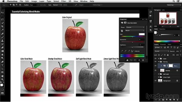 Understanding essential blend modes for colorizing: Colorizing Black-and-White Photographs with Photoshop