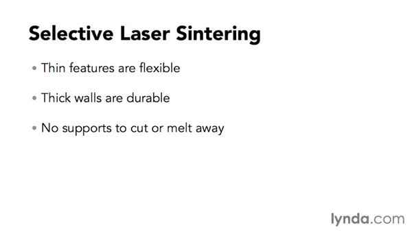 Laser sintering: Up and Running with 3D Printing