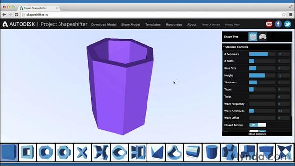 Other types of modeling: Up and Running with 3D Printing