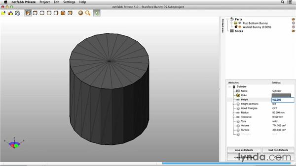 Creating a hollow model: Up and Running with 3D Printing