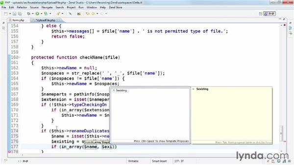 php rename file
