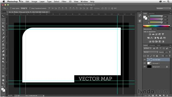 Animating titles from Photoshop: After Effects Guru: Working with Vectors