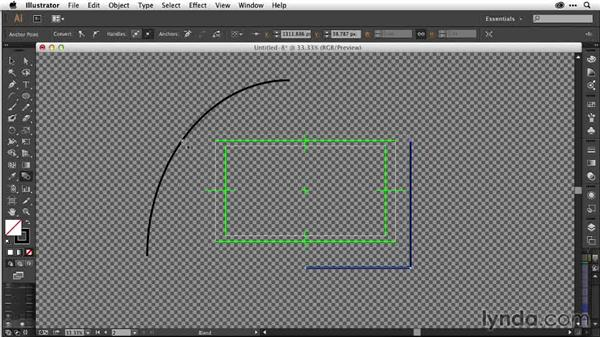 Building custom repeating shapes with the Blend tool: After Effects Guru: Working with Vectors