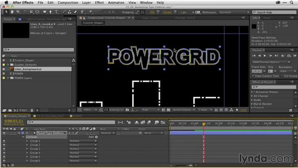 Speed tip: Animating repeating shapes: After Effects Guru: Working with Vectors