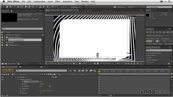 Efficient type animation in After Effects: After Effects Guru: Working with Vectors