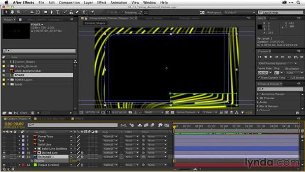 Timing animated vectors: After Effects Guru: Working with Vectors