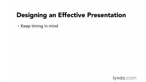 Designing an effective presentation: Creating a PDF Presentation