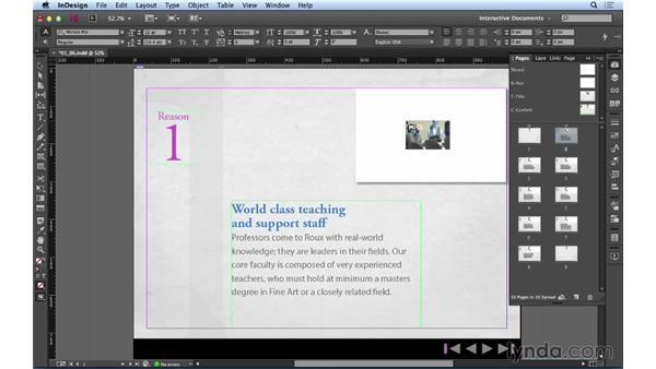 Adding content to a presentation: Creating a PDF Presentation