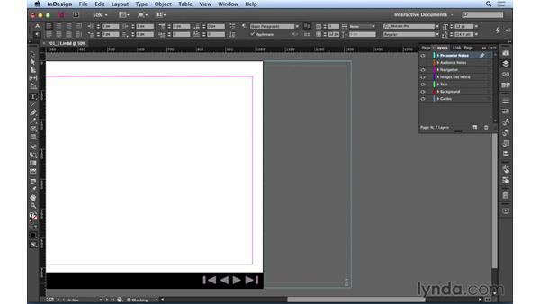 Using the slug area for notes: Creating a PDF Presentation