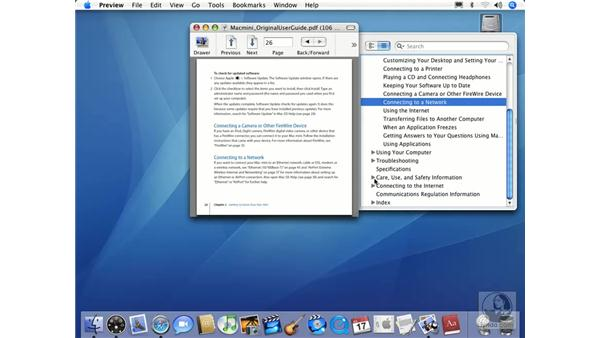 Viewing and Navigating Files: Mac OS X 10.4 Tiger Essential Training
