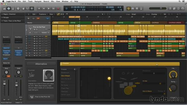 Going deeper into the Drummer Editor: Making Beats in Logic Pro X