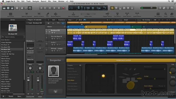 Making electronic beats with Drummer and Ultrabeat: Making Beats in Logic Pro X