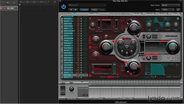 Sound designing your kits: Making Beats in Logic Pro X