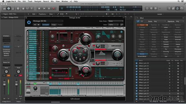 Making stutter vocal effects using Ultrabeat's step grid: Making Beats in Logic Pro X