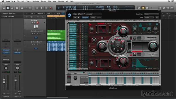 Making stutter vocal effects with a sidechain: Making Beats in Logic Pro X
