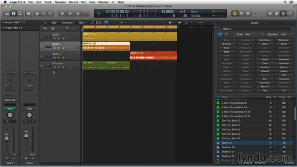Making, tagging, and indexing your own Apple Loops: Making Beats in Logic Pro X