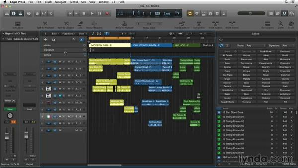 New Apple Loop features in Logic Pro X: Making Beats in Logic Pro X