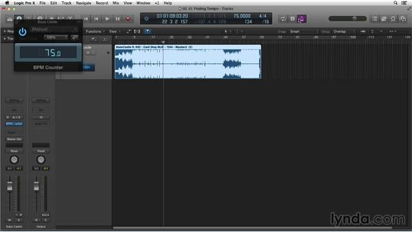 Finding your tempo: Making Beats in Logic Pro X