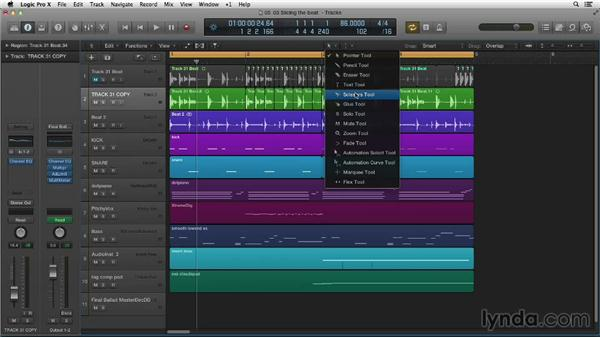 Slicing up your samples: Making Beats in Logic Pro X