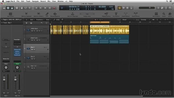 Slicing on transients to regroove beats: Making Beats in Logic Pro X