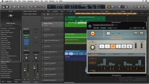 Discovering Arpeggiator: Making Beats in Logic Pro X