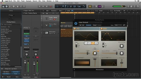 Designing sounds with Modulator: Making Beats in Logic Pro X