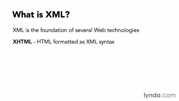 What is XML?: XML Essential Training
