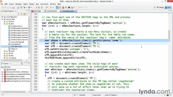 Bringing it all together: XML Essential Training