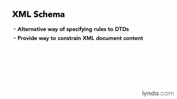 What is an XML schema?: XML Essential Training