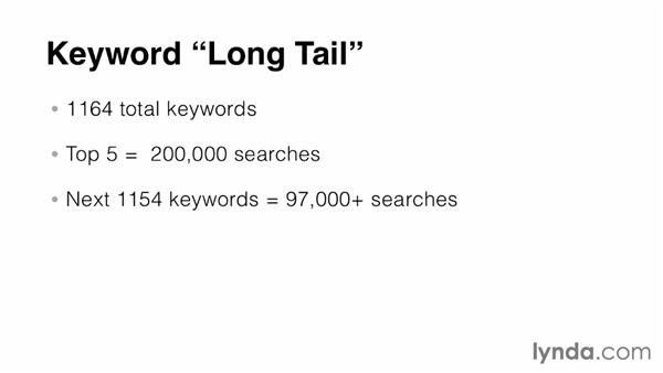 Utilize the long tail: SEO: Keyword Strategy in Depth