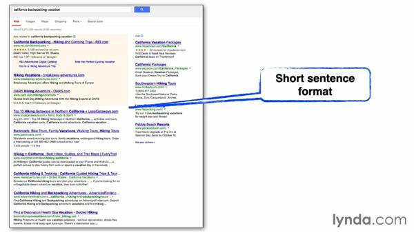 Evaluate your page title options: SEO: Keyword Strategy in Depth