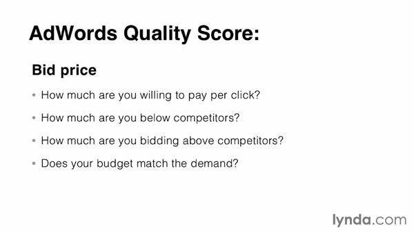 Balance keywords and quality score: SEO: Keyword Strategy in Depth