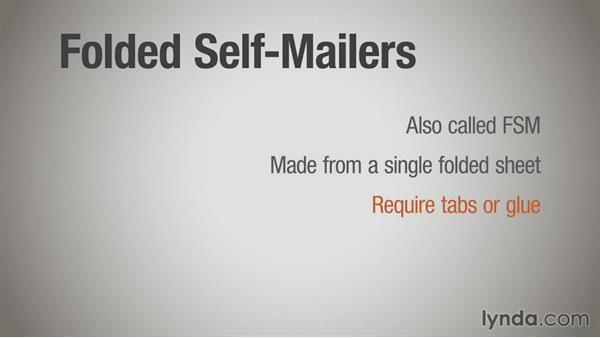 Folded self-mailers: Direct Mail Strategy