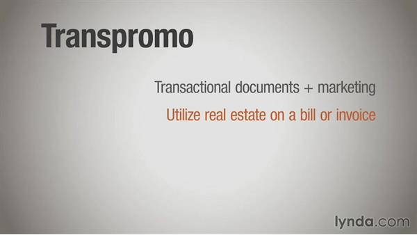 Transpromo: Direct Mail Strategy