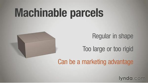 Parcels and irregular parcels: Direct Mail Strategy