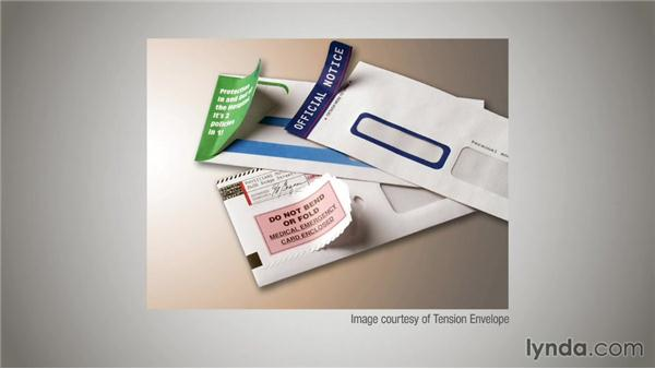 Envelopes and opening mechanisms: Direct Mail Strategy