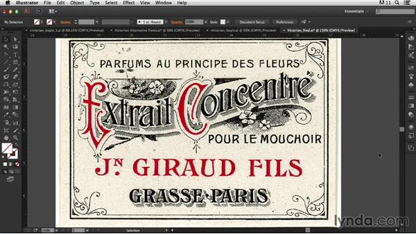 Welcome: Type Project: Victorian Ad