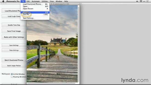 Reducing chromatic aberration: Up and Running with Photomatix Pro