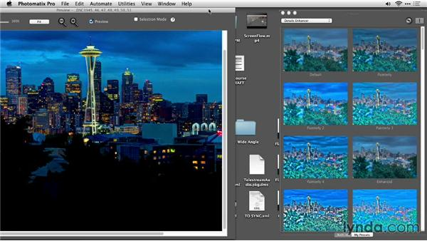 Working in Unified or Floating mode: Up and Running with Photomatix Pro