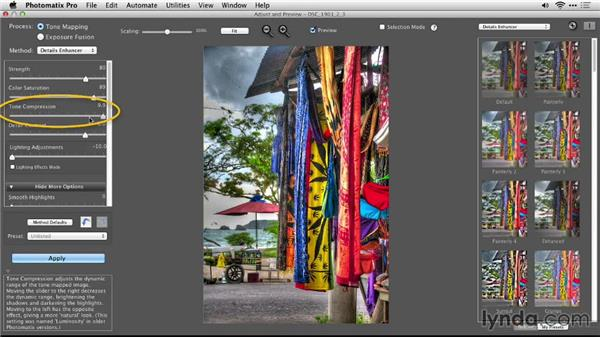 The Details Enhancer workflow: Up and Running with Photomatix Pro