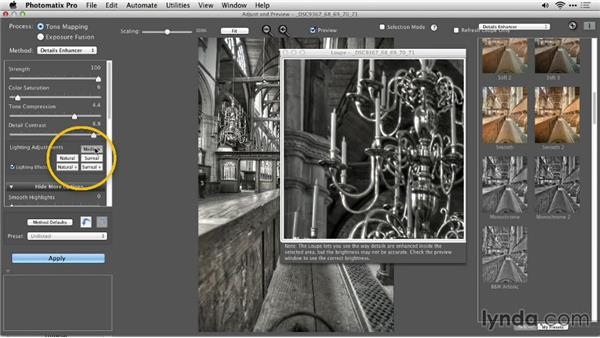 The black-and-white workflow: Up and Running with Photomatix Pro