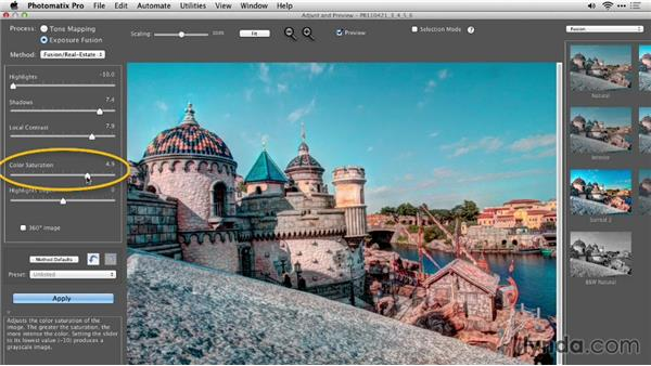 Exploring the Fusion/Real Estate workflow using photos taken outside: Up and Running with Photomatix Pro