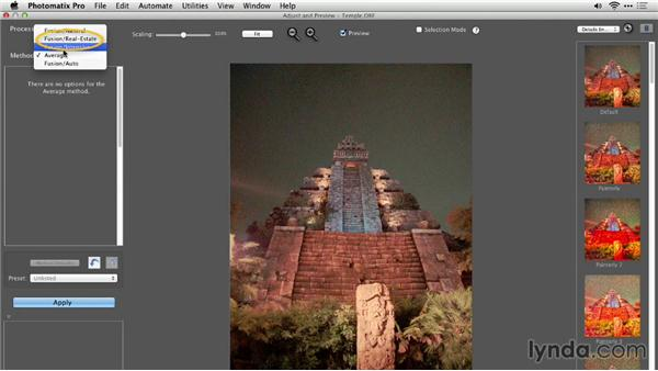 Photomatix Pro and color management: Up and Running with Photomatix Pro
