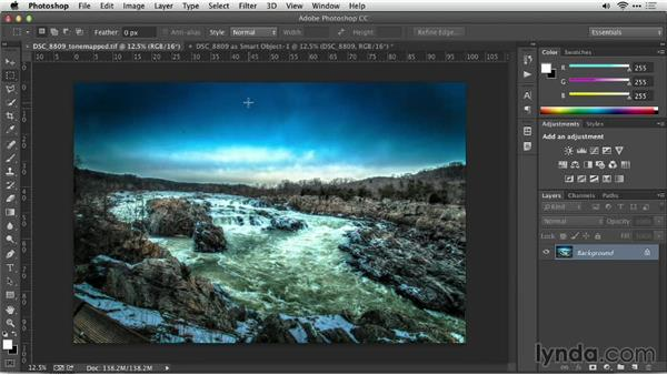Challenge: Creating a feeling within an image: Up and Running with Photomatix Pro