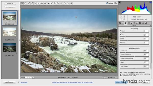 Solution: Creating a feeling within an image: Up and Running with Photomatix Pro
