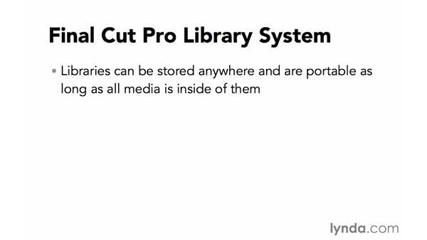 Understanding file structure in Final Cut Pro (FCP) X: Final Cut Pro X 10.1.x Essential Training